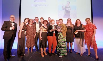 Winners of Drinks Producer of the year at the Sussex Food and Drink Awards 2019