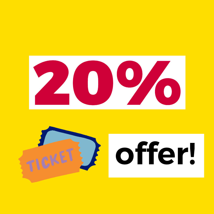Brighton Chamber Members 20% Discount