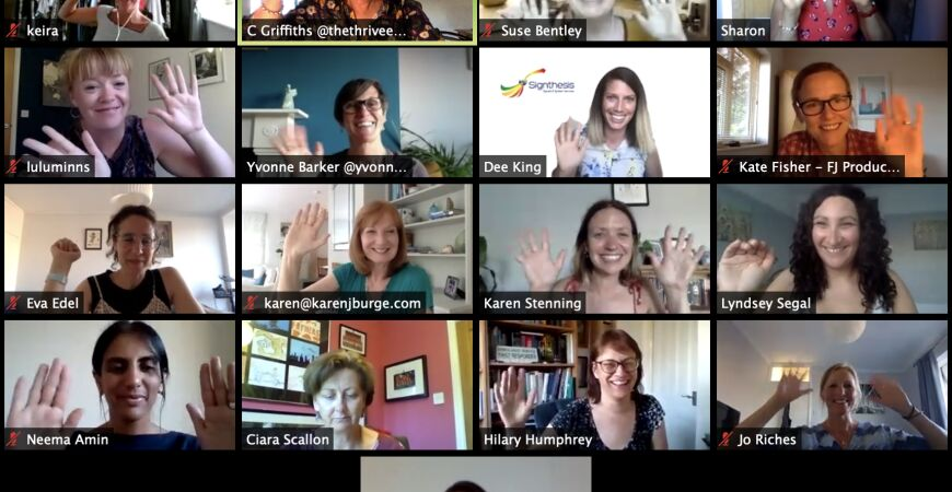 Online Thrive Meetup for Female Founders & Women in Business