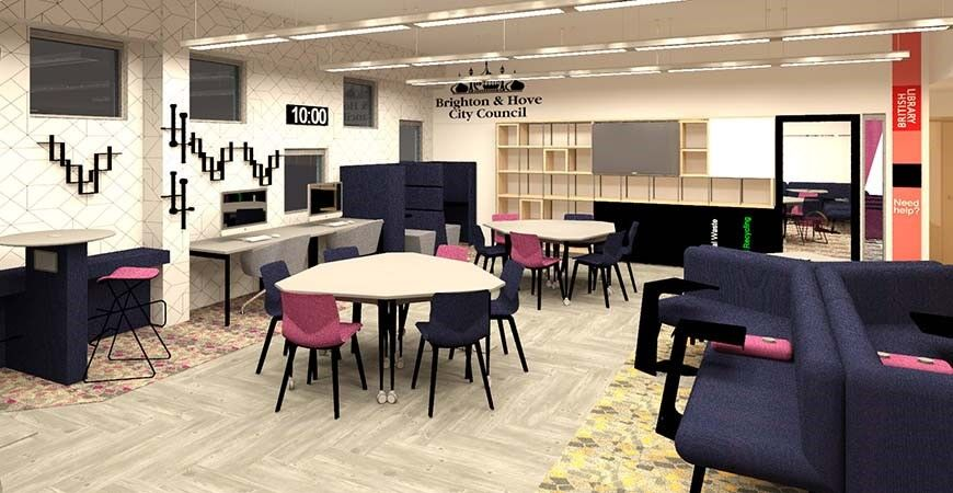 Business & IP Centre opening at Jubilee Library