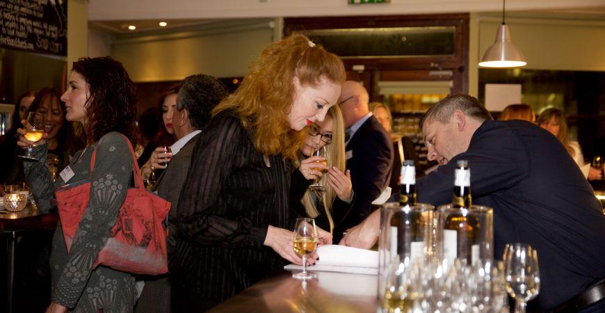 Chamber wine tasting social