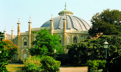 View of the Dome from Pavilion Gardens © Matthew Andrews