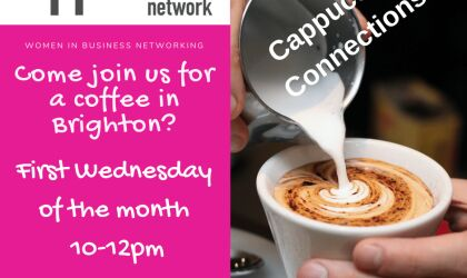 Cappuccino Connections - Monthly Informal Meeting 10.15 am - 12pm Held on 1st Wednesday of the month