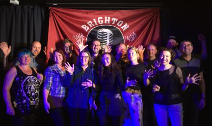 Graduates of the Beginners Comedy Course 2019