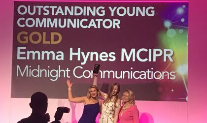 We win awards for our campaigns... and for our young communicators!