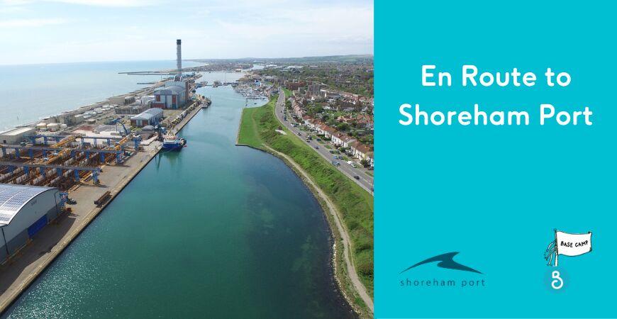 En route to Shoreham Port