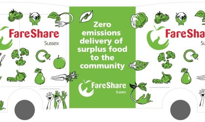Fareshare Sussex e-bike, Design by Richard Excell, of Excell Design