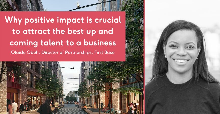Why positive impact is crucial to attract the best up and coming talent to a business