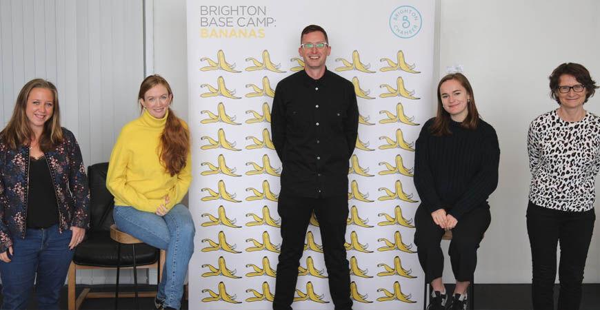 Brighton Base Camp: Bananas