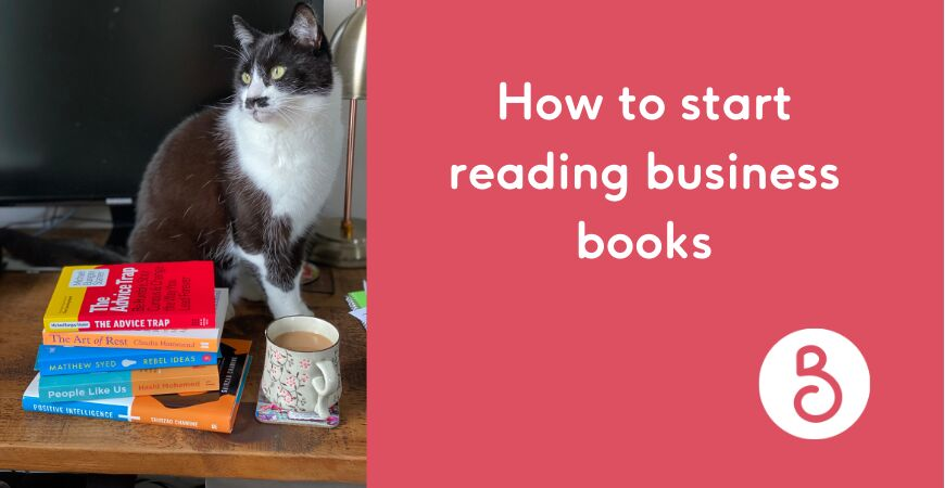 How to start reading business books