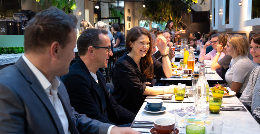 The 'There's more to equality than pay' Pop-up Breakfast