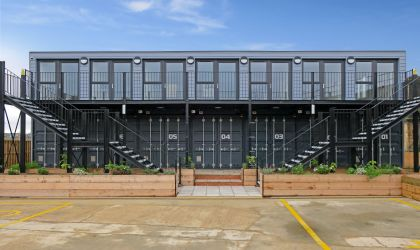 Shipping Container offices for Medway Council