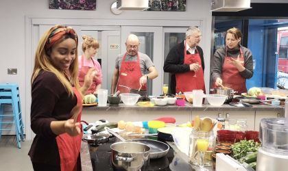 Evening and weekend cookery classes
