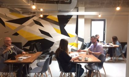 Free coworking area