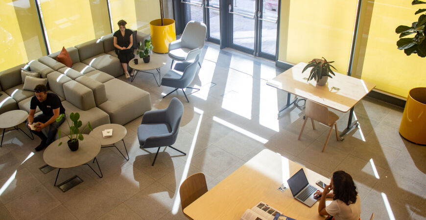 Returning to work – open co-working spaces in Brighton