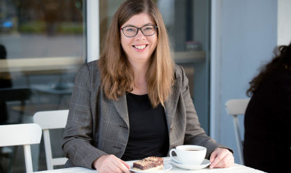 Book a coffee and cake to talk about your business