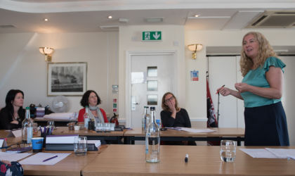 Coaching on the Comedy Weekender course in Brighton