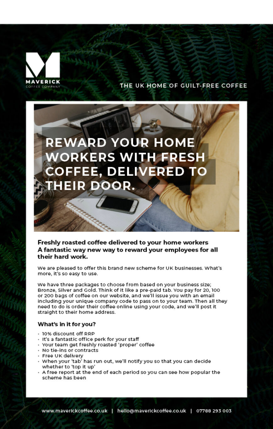 Home Workers Coffee Scheme