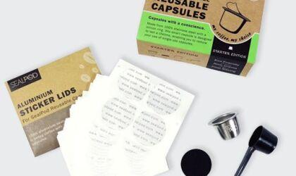 SealPod Nespresso Reusable Pod