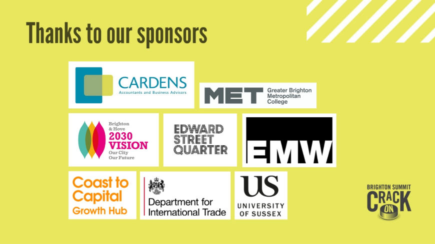 Brighton Summit sponsorship