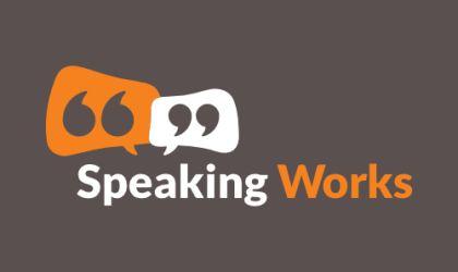 Logo design for Speaking Works