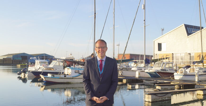 Shoreham Port CEO talks people, business and sustainability