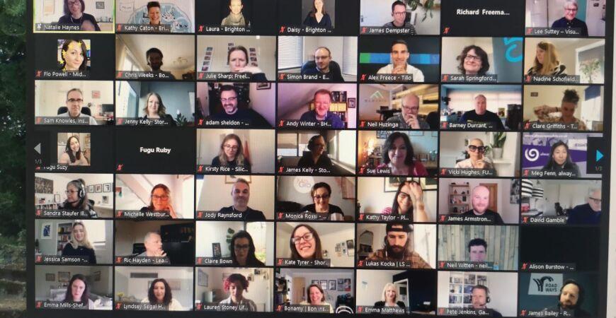Slo-mo Networking August (virtual)