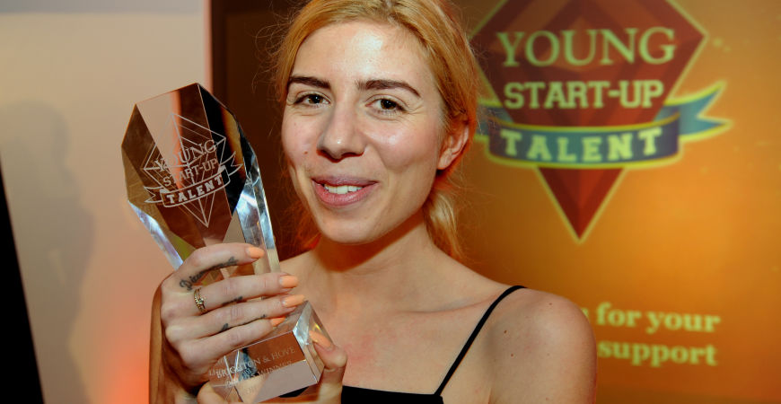 Brighton and Hove Young Start-up Talent 2015 winner