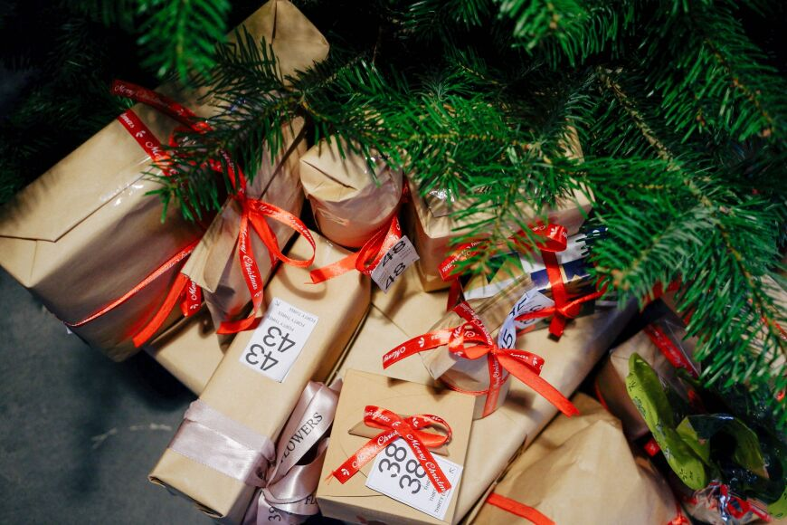 Fundraising online Christmas auction